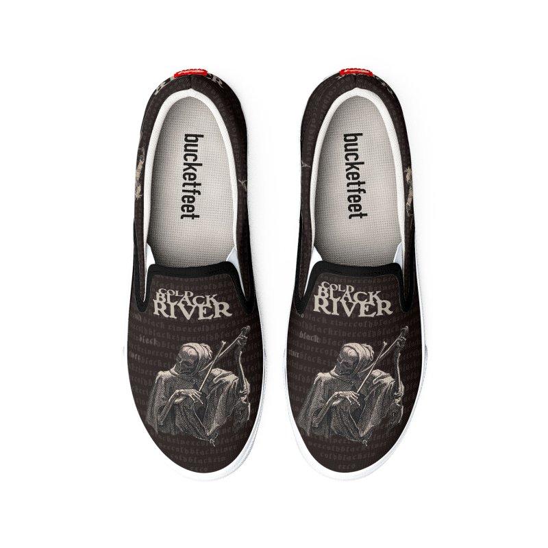 Death's Shoes MENS Men's Shoes by COLD BLACK RIVER