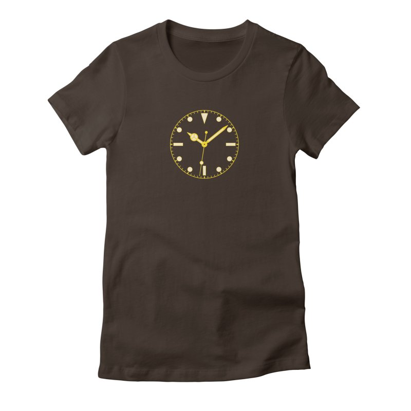 Gilt Tee Women's Fitted T-Shirt by Timely Tees