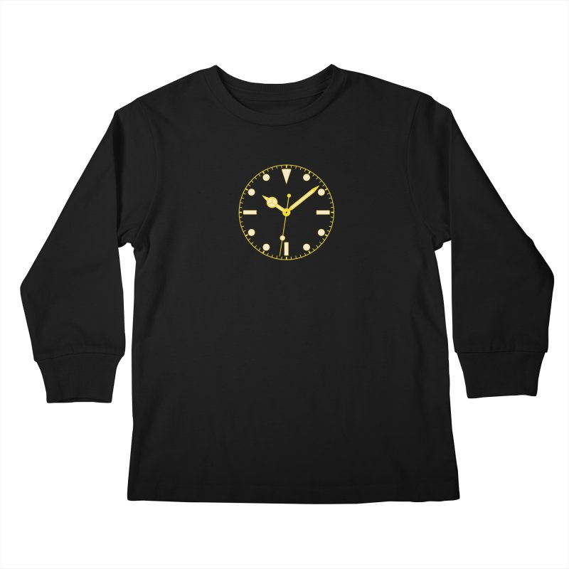 Gilt Tee Kids Longsleeve T-Shirt by Timely Tees