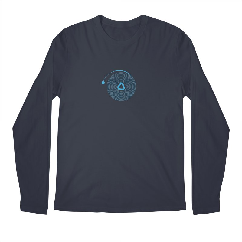 Freesprung - Blued Edition Men's Longsleeve T-Shirt by Timely Tees