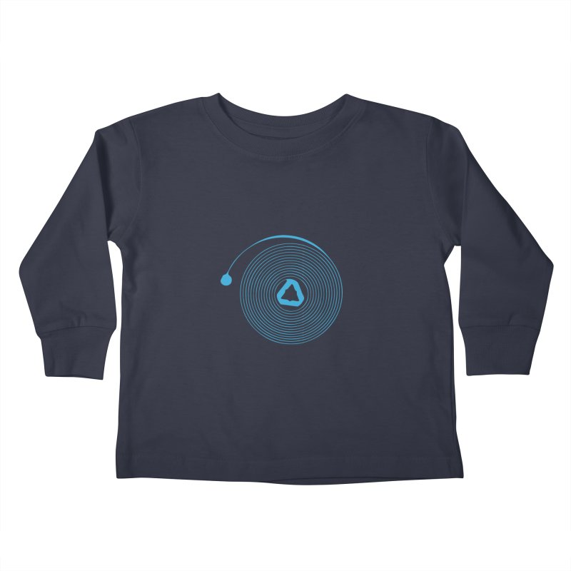 Freesprung - Blued Edition Kids Toddler Longsleeve T-Shirt by Timely Tees