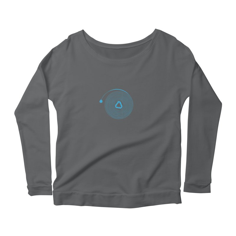 Freesprung - Blued Edition Women's Scoop Neck Longsleeve T-Shirt by Timely Tees