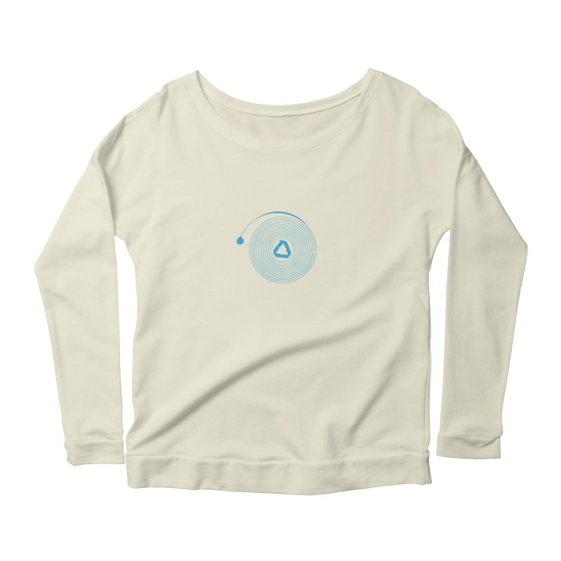 Freesprung - Blued Edition Women's Longsleeve Scoopneck  by Timely Tees