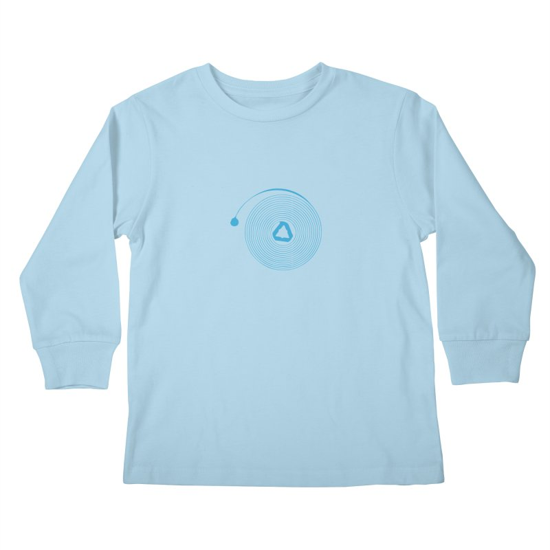Freesprung - Blued Edition Kids Longsleeve T-Shirt by Timely Tees