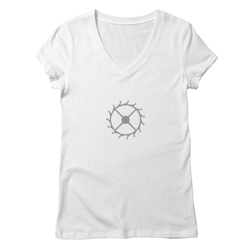 Escape Women's Regular V-Neck by Timely Tees