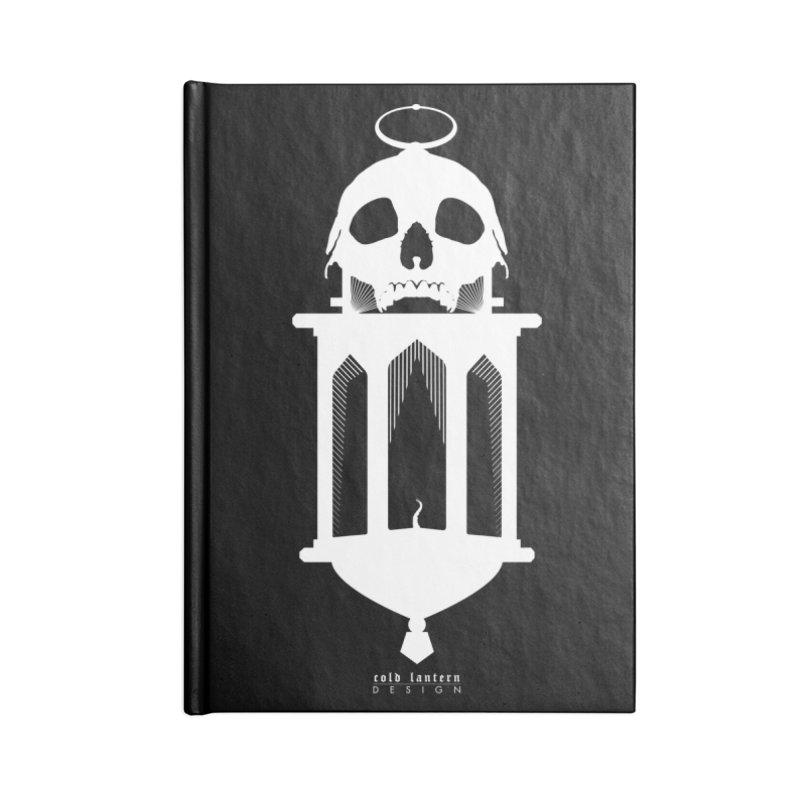 Cold Lantern Accessories Blank Journal Notebook by Cold Lantern Design