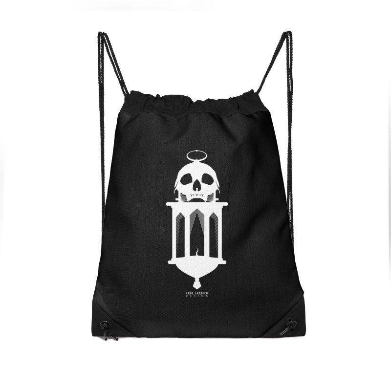 Cold Lantern Accessories Drawstring Bag Bag by Cold Lantern Design
