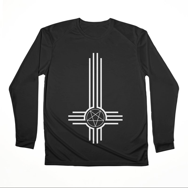 Nuevo Satanismo Men's Performance Longsleeve T-Shirt by Cold Lantern Collection