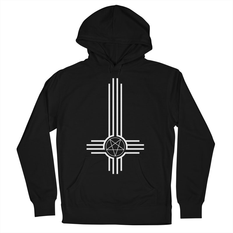 Nuevo Satanismo Men's French Terry Pullover Hoody by Cold Lantern Design