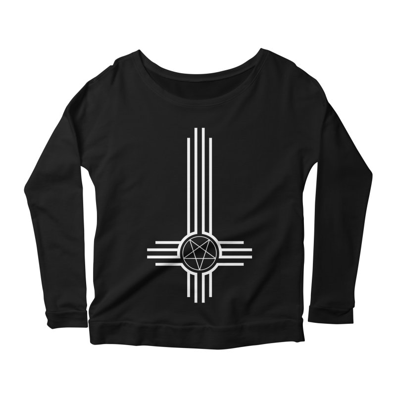 Nuevo Satanismo Women's Scoop Neck Longsleeve T-Shirt by Cold Lantern Collection