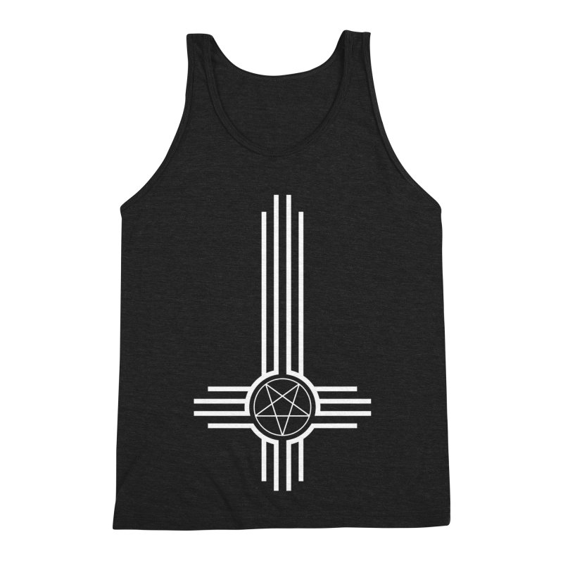 Nuevo Satanismo Men's Triblend Tank by Cold Lantern Collection