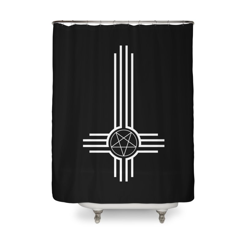 Nuevo Satanismo Home Shower Curtain by Cold Lantern Collection