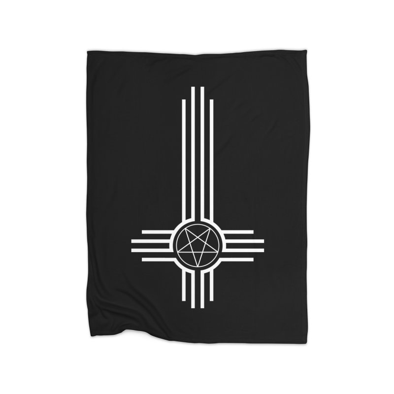 Nuevo Satanismo Home Fleece Blanket Blanket by Cold Lantern Design