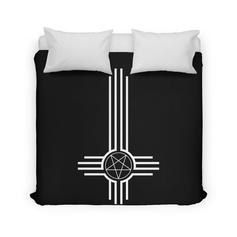 Nuevo Satanismo Home Duvet by Cold Lantern Collection