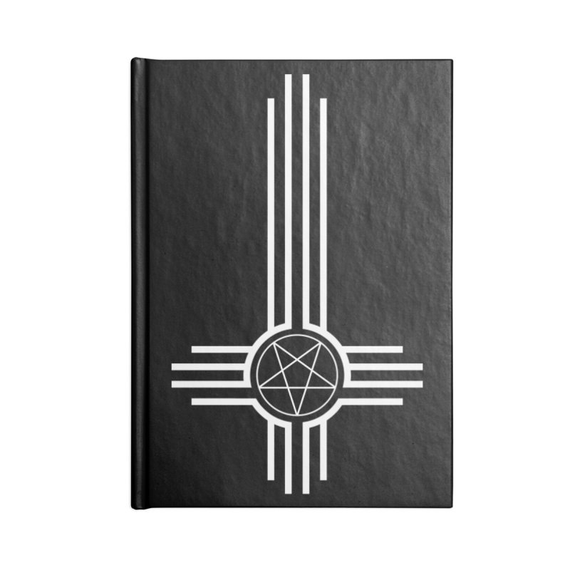 Nuevo Satanismo Accessories Lined Journal Notebook by Cold Lantern Design