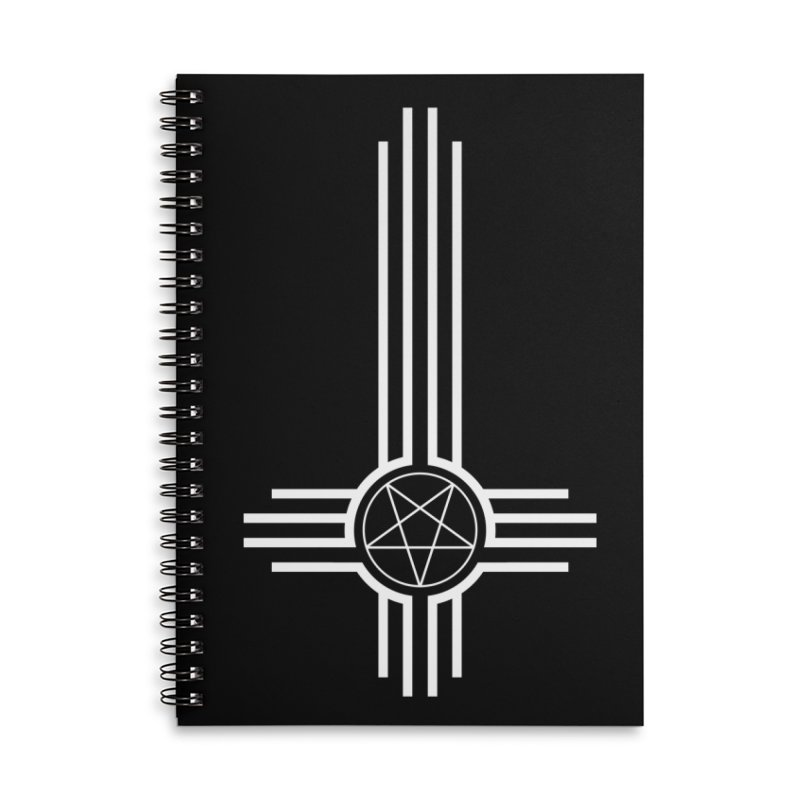 Nuevo Satanismo Accessories Lined Spiral Notebook by Cold Lantern Design