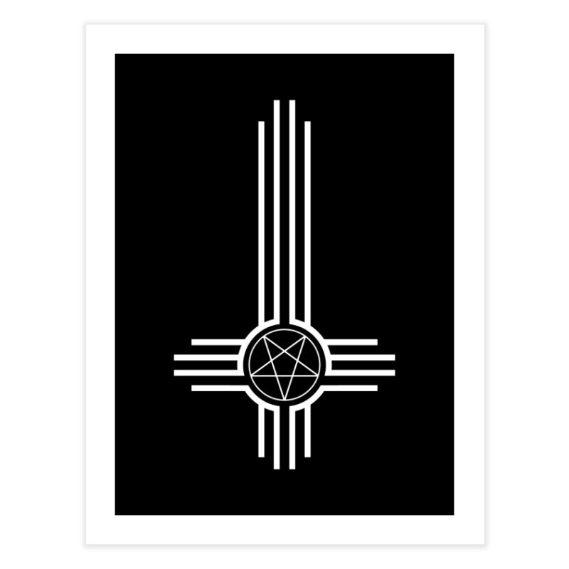 Nuevo Satanismo Home Fine Art Print by Cold Lantern Collection