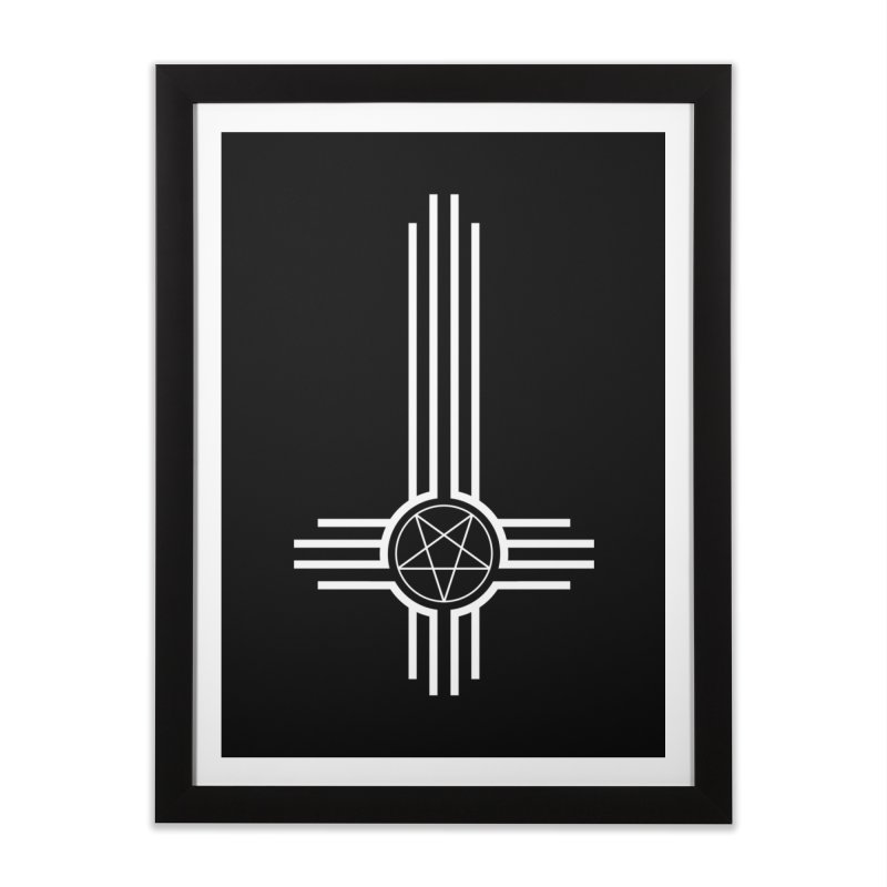 Nuevo Satanismo Home Framed Fine Art Print by Cold Lantern Design
