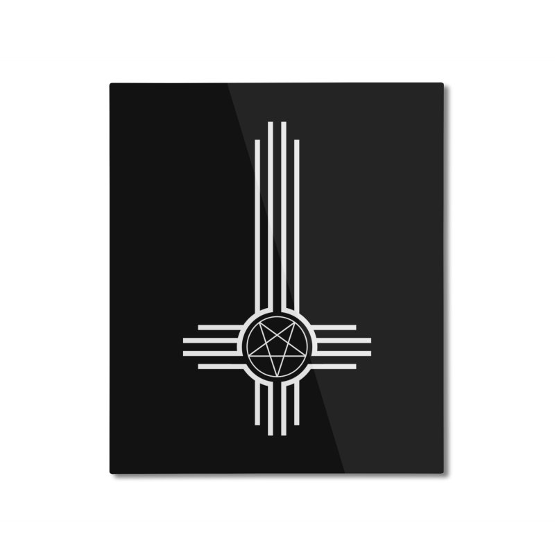 Nuevo Satanismo Home Mounted Aluminum Print by Cold Lantern Collection