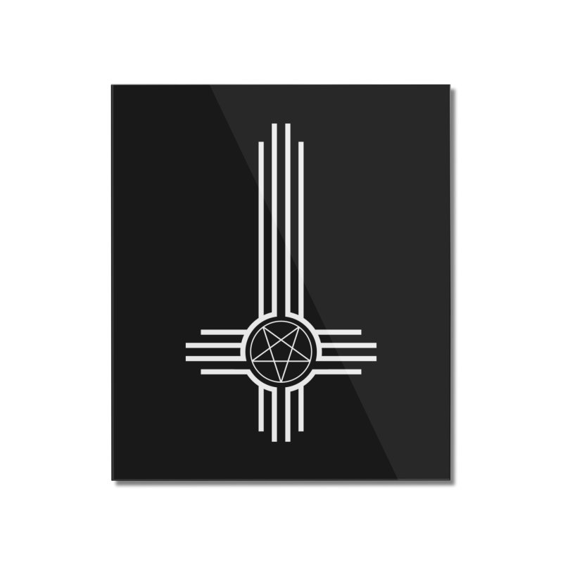 Nuevo Satanismo Home Mounted Acrylic Print by Cold Lantern Collection