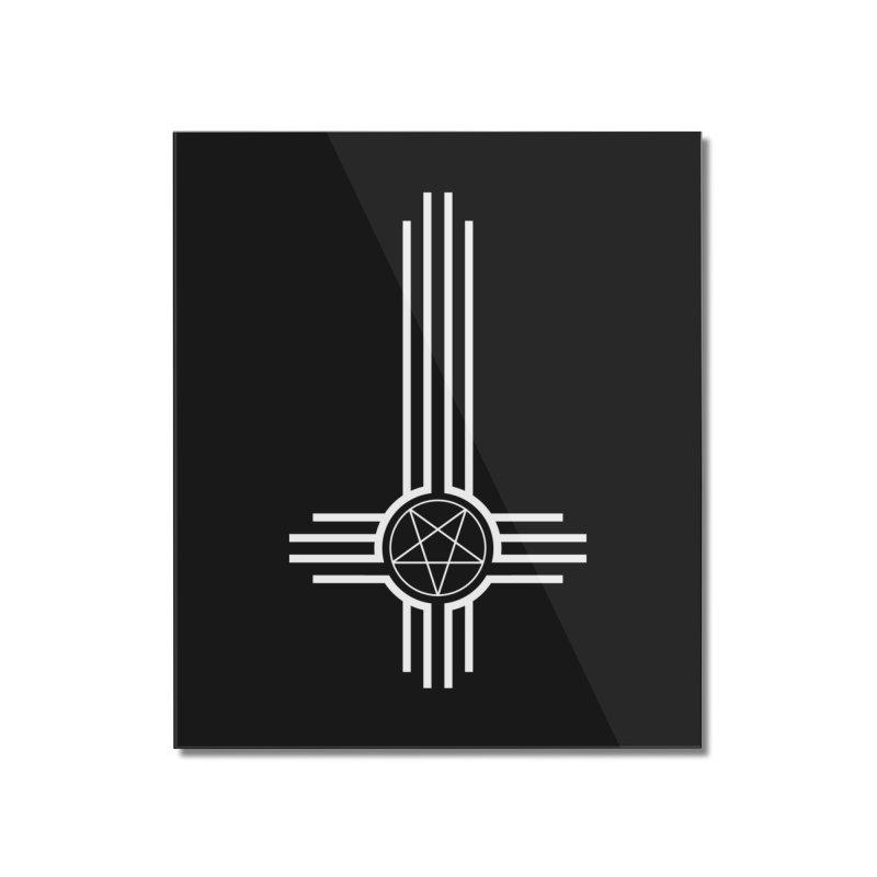 Nuevo Satanismo Home Mounted Acrylic Print by Cold Lantern Design