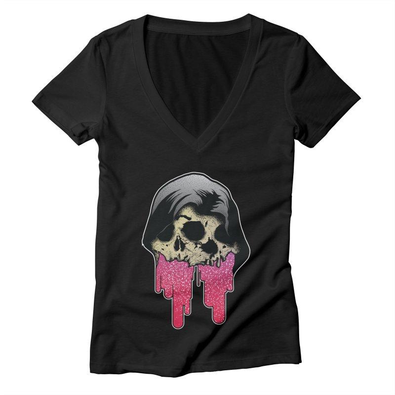YOU MAKE ME SICK Women's Deep V-Neck V-Neck by Cold Lantern Design