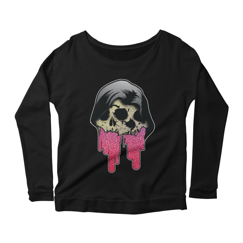 YOU MAKE ME SICK Women's Scoop Neck Longsleeve T-Shirt by Cold Lantern Collection