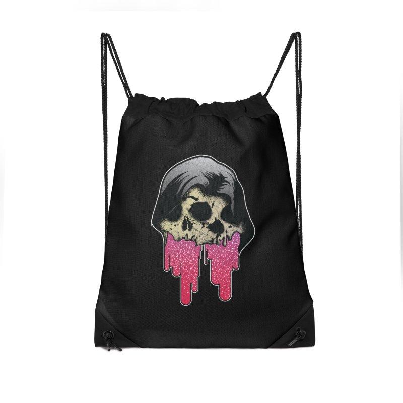 YOU MAKE ME SICK Accessories Drawstring Bag Bag by Cold Lantern Design