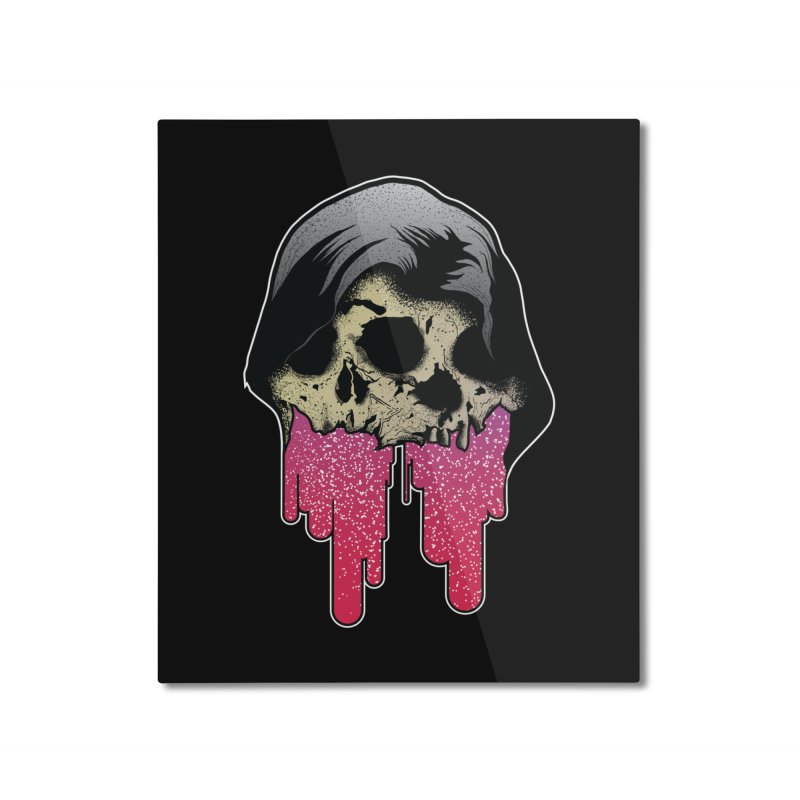 YOU MAKE ME SICK Home Mounted Aluminum Print by Cold Lantern Collection