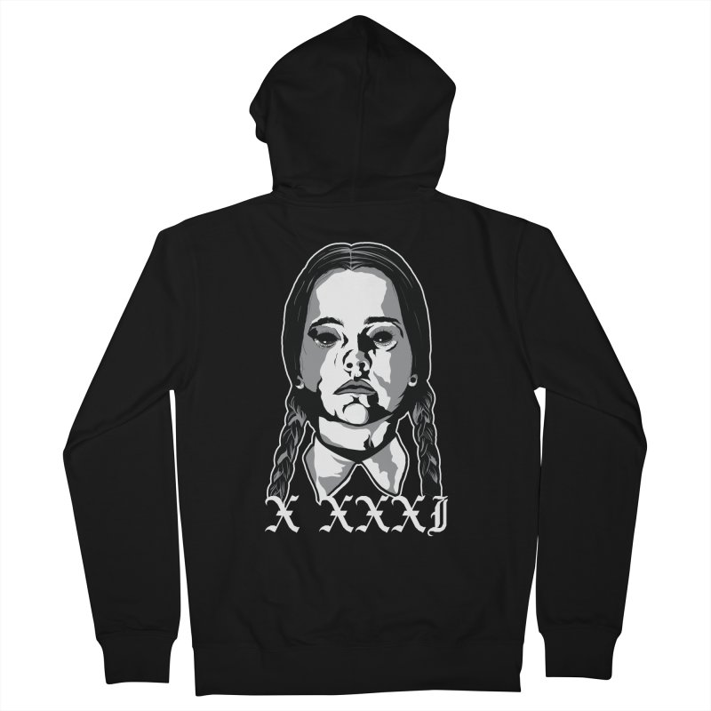 X XXXI 2019 (Wednesday) Women's French Terry Zip-Up Hoody by Cold Lantern Design