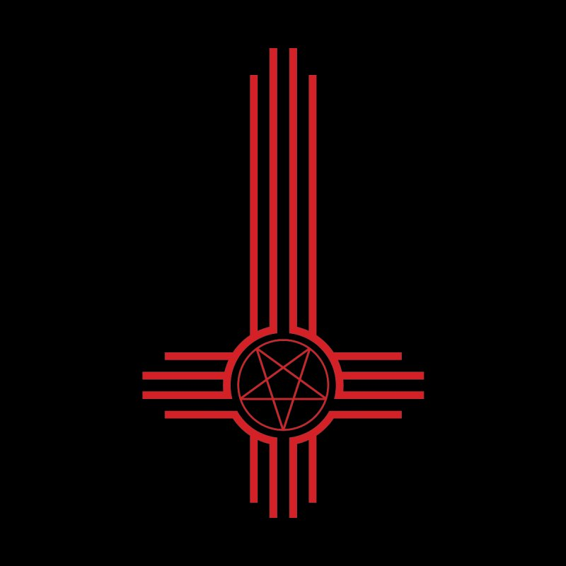 Nuevo Satanismo (BLOOD variant) Home Blanket by Cold Lantern Design