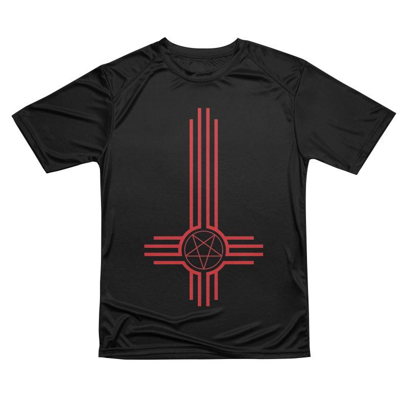 Nuevo Satanismo (BLOOD variant) Men's Performance T-Shirt by Cold Lantern Design