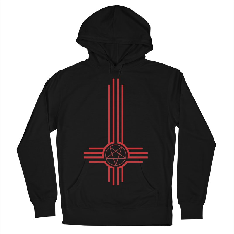 Nuevo Satanismo (BLOOD variant) Women's French Terry Pullover Hoody by Cold Lantern Design