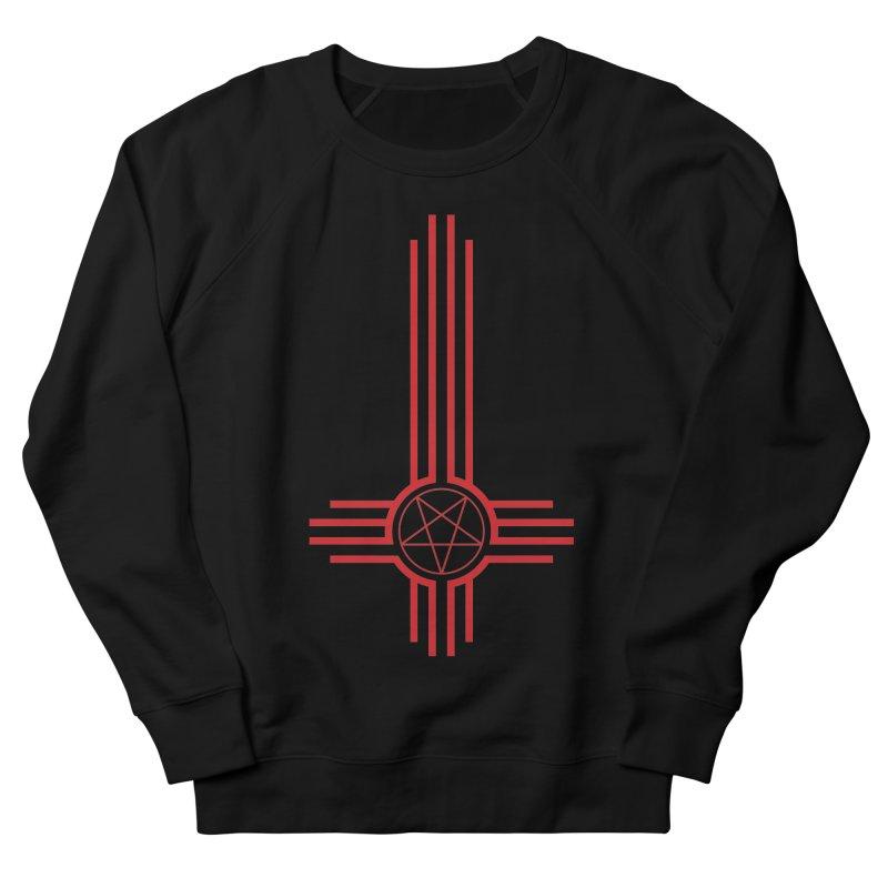 Nuevo Satanismo (BLOOD variant) Men's French Terry Sweatshirt by Cold Lantern Design