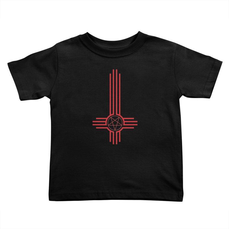 Nuevo Satanismo (BLOOD variant) Kids Toddler T-Shirt by Cold Lantern Design