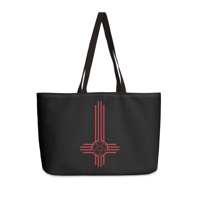 Nuevo Satanismo (BLOOD variant) Accessories Weekender Bag Bag by Cold Lantern Design