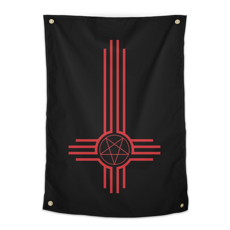 Nuevo Satanismo (BLOOD variant) Home Tapestry by Cold Lantern Design