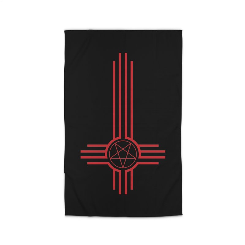 Nuevo Satanismo (BLOOD variant) Home Rug by Cold Lantern Design
