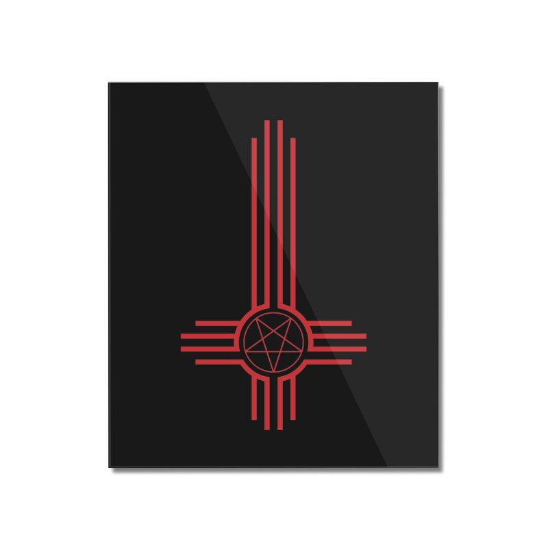 Nuevo Satanismo (BLOOD variant) Home Mounted Acrylic Print by Cold Lantern Design