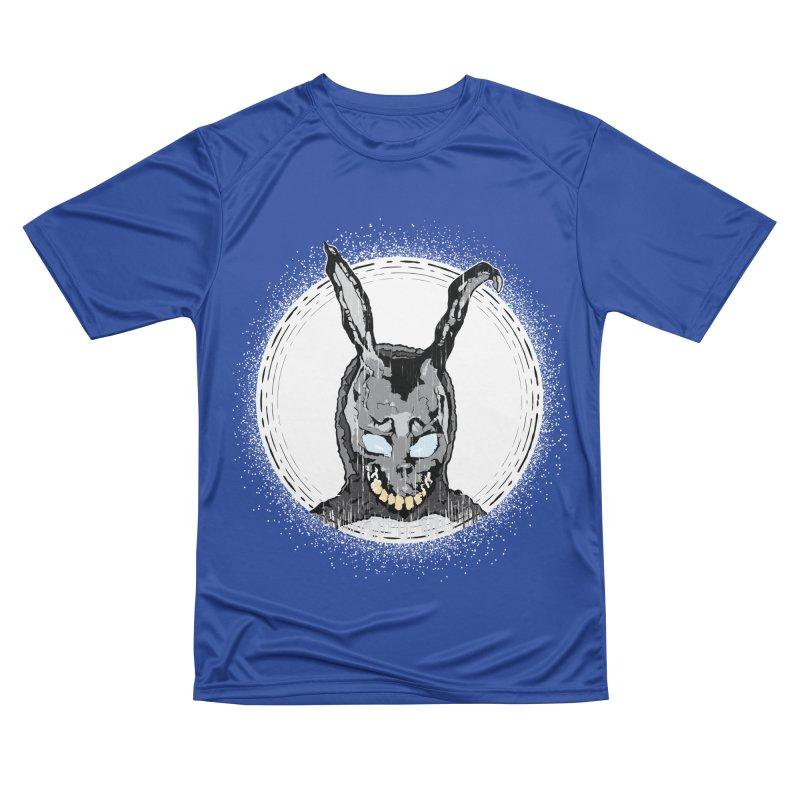 Down the Rabbit Hole Men's Performance T-Shirt by Cold Lantern Design