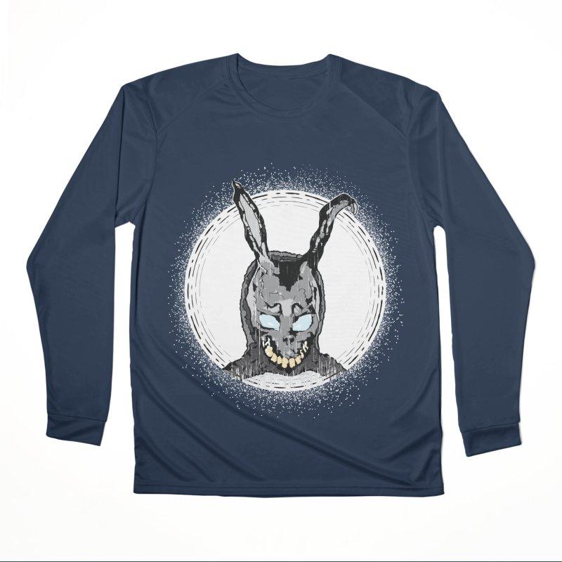 Down the Rabbit Hole Men's Performance Longsleeve T-Shirt by Cold Lantern Design