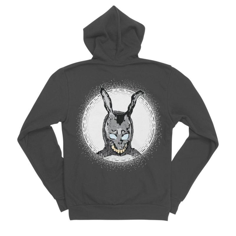 Down the Rabbit Hole Women's Sponge Fleece Zip-Up Hoody by Cold Lantern Design
