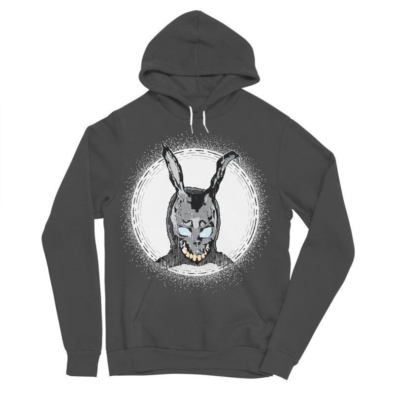 Down the Rabbit Hole Men's Sponge Fleece Pullover Hoody by Cold Lantern Design