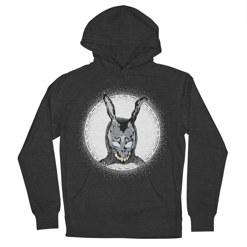 Down the Rabbit Hole Men's French Terry Pullover Hoody by Cold Lantern Design