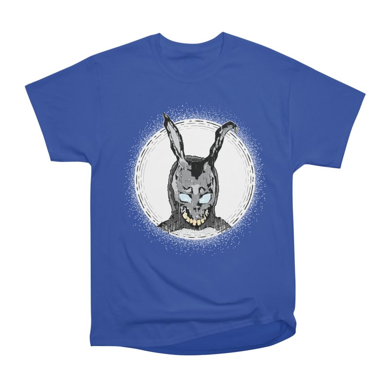 Down the Rabbit Hole Women's Heavyweight Unisex T-Shirt by Cold Lantern Design