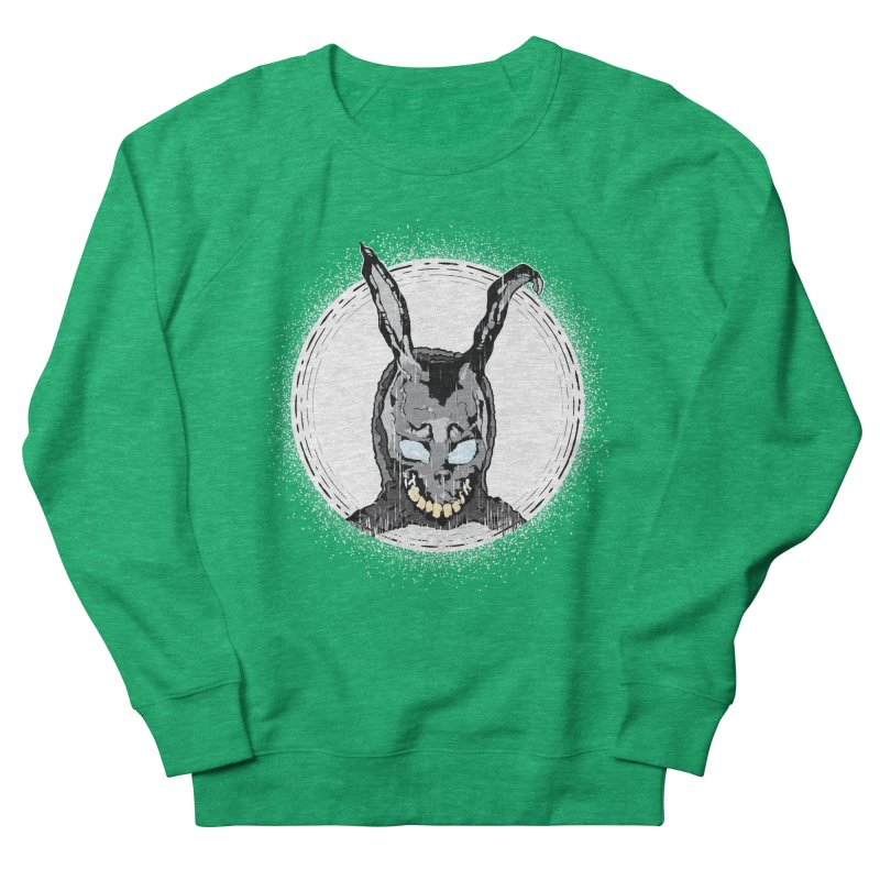 Down the Rabbit Hole Women's French Terry Sweatshirt by Cold Lantern Design