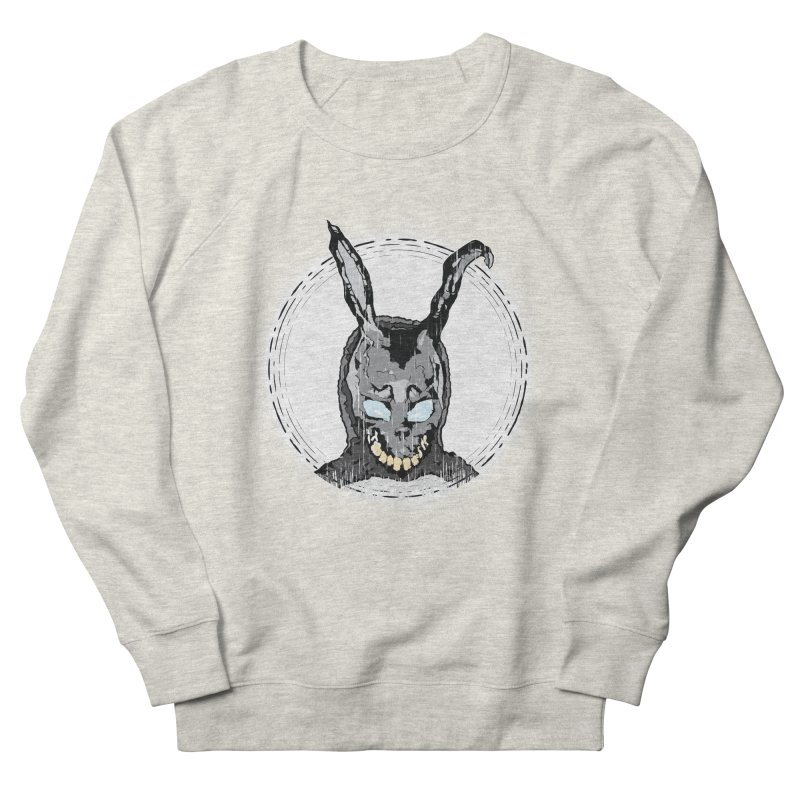 Down the Rabbit Hole Men's French Terry Sweatshirt by Cold Lantern Design