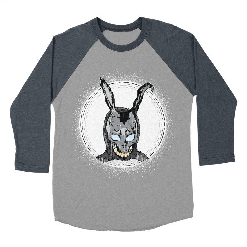 Down the Rabbit Hole Men's Baseball Triblend Longsleeve T-Shirt by Cold Lantern Design