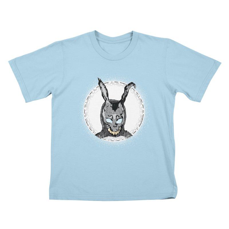 Down the Rabbit Hole Kids T-Shirt by Cold Lantern Design