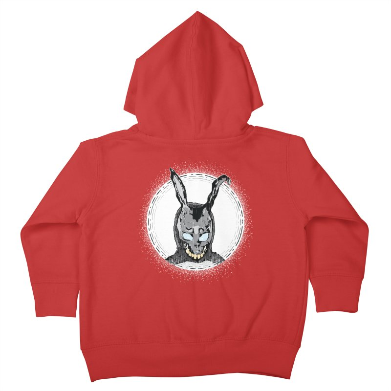 Down the Rabbit Hole Kids Toddler Zip-Up Hoody by Cold Lantern Design